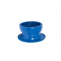Buy cheap Epoxy Coating Ductile Cast Iron EN545 Socket Pipe Joint from wholesalers