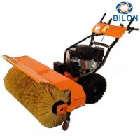 Quality 15HP Walk Behind Snow Sweeper Machines Gasoline Powered  Work Width 1000mm for sale