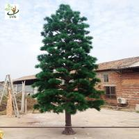 Quality UVG new outdoor christmas decorations artificial pine tree for road ornament made in china GRE065 for sale
