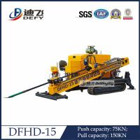 Quality Drilling Rig Horizontal Directional Drilling Machine DFHD-15 for sale