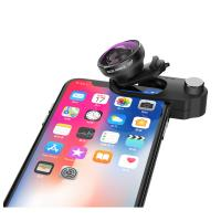 Quality Zoom Iphone Super Wide Angle Lens , Universal Clip Lens For Mobile Phone Camera for sale