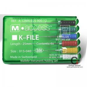 Dentsply Maillefer M access Packing K file/ H file/ K-Reamer file