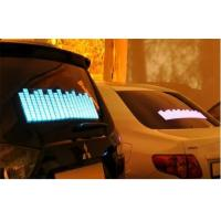 Quality Music Activated LED Equalizer Car Sticker For Window Powered By Cigarette Lighter DC12V for sale
