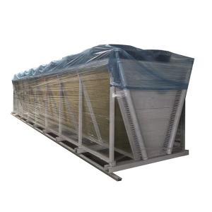 Quality Modular Aluminum Fin Air Condenser Cooler Adiabatic cooling cooler unit for sale