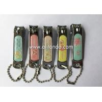 Quality Souvenir Customized Engraved Nail Clipper Keychain Metal Souvenir Nail Clippers for sale