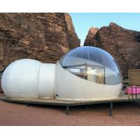 Quality Desert 2 Tunnel Outdoor Inflatable Hotel Bubble Tent for sale