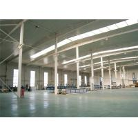 Quality Stable Structural Steel Frame Construction Prefabricated Warehouse Buildings for sale