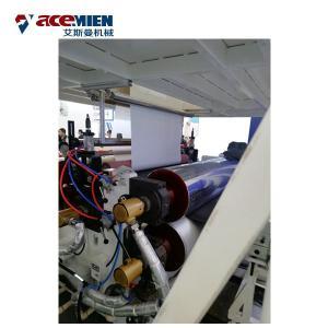 Multi Layer SPC Flooring Making Machine , LVT Vinyl Plank Floor Production Line