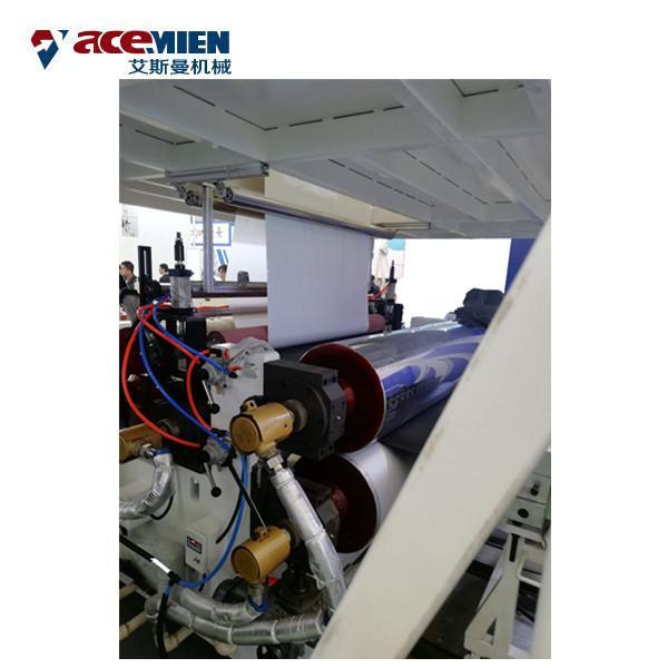 Buy Multi Layer SPC Flooring Making Machine , LVT Vinyl Plank Floor Production Line at wholesale prices