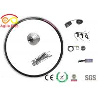 Commercial Front Hub Electric Bike Kit , High Efficiency Electric Bike Wheel Hub Kit