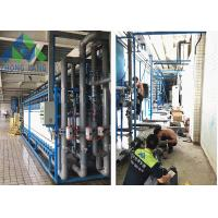 Quality Stainless Steel Frame Salt Water Treatment Plant 98% Rejection Rate for sale