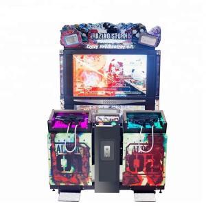 Quality 55 Inch Scree Razing Simulator Shooting Game Machine Hardware , Plastic Uptake Material for sale