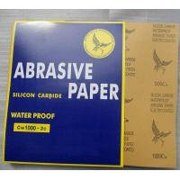 China aluminum oxide ,silicon carbide waterproof paper on sale