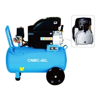 Quality CNMC-40L Power Is 2.2KW,3HP And Tank Is 40L,Air Compressor for sale