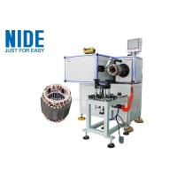 Quality Pump Motor High Automation Stator Winding Lacing Machine Single Working Station for sale