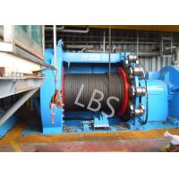 Buy cheap 10T 20T Hydraulic Windlass Winch With Lebus Grooving Drum Eco Friendly from wholesalers