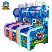 Quality Indoor Ticket Redemption Machine Ball Shooting Game Machine For Kids for sale