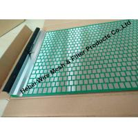 Quality 40 - 400 Mesh Flat Oil Vibrating Screen For Model 500 Shale Shaker Mud Cleaner for sale