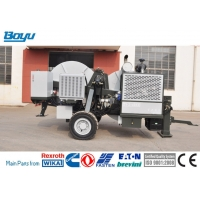 China Cummins 5km/H Overhead Line Stringing Equipment Hydraulic Tensioner for sale