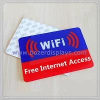 Best Acrylic Free Wi-Fi Hotspot Signs wholesale