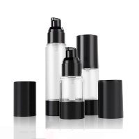 Quality Cylinder 15ML 30ML 50ML Lotion Spray Airless Pump Bottles for sale