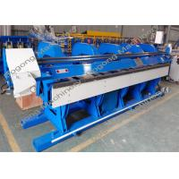 Quality 4 / 6 Meters Sheet Slitter Folder Machine With Hydraulic Speed Control for sale