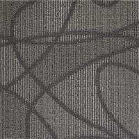 Quality Modular Peel And Stick Indoor Outdoor Carpet Tiles / Black Commercial Carpet Tiles for sale