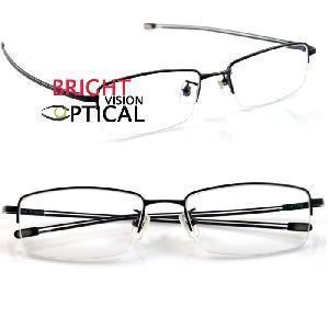 Quality Man′s Half Rim Frame Pure Titanium Eyewear Frames (9179) for sale