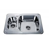 Quality stainless steel sink 1.5 bowl #FREGADEROS DE ACERO INOXIDABLE #kitchen sink #building material #hardware #sanitaryware for sale