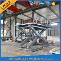 Quality Stationary Scissor Lift Platforms Hydraulic Lifting Equipment 5T 1.5m for sale