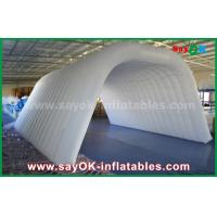 China Custom Made Adult White Inflatable Tunnel Tent For Event / Trade Show on sale
