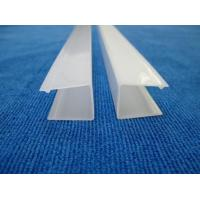 Buy cheap polycarbonate LED Housing profile PC Profile led strip plastic cover from wholesalers