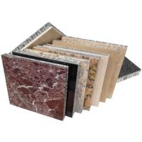 Quality Stone honeycomb panels for facade wall envelope,lightweight stone panels for curtain wall envelope for sale