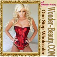 China Red Sexy Women Corset on sale