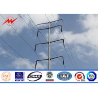 Buy cheap Metal Multi Sided Tapered Tubular Power Utility Poles For 33kv Transmission Line Steel Pole Tower from wholesalers
