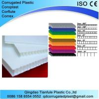 Quality White/ Black Corex for Printing and Floor Protection for sale