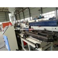 China PVC single wall corrugated pipe extrusion machine(5mm-15mm) on sale
