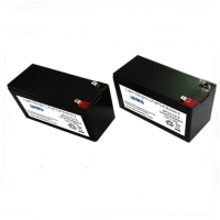 Buy cheap High Safety Lifepo4 12v 6ah Rechargable Battery , Black Case with Custom Size from wholesalers