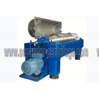 Quality Centrifugal Continuous Oil Extraction Machine Decanter Centrifuges for sale