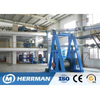 Quality Cantilever Type Rubber Extrusion Line , Cable Vulcanizing Machine 300kg/H Max Output for sale