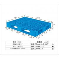 China HDPE / PP Standard Recycled Plastic Pallets Temporary Mobile Platforms 1250*1000*150mm on sale