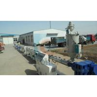Quality PP / PE Sewage Pipe Plastic Extrusion Machine , Plastic Drainage Pipe Production Line for sale