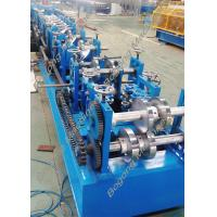 Quality Custom Steel Frame Purlin Roll Forming Machine 18.5KW Driving Motor for sale