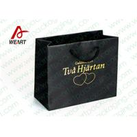 Best Hot Stamping Printed Custom Paper Shopping Bags For Retail Store Medium Size wholesale