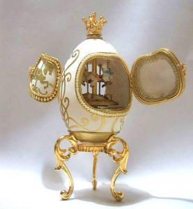 Quality Eggshell Music Box/Jewelry Box(YJ022M) for sale