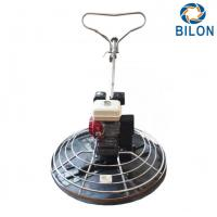 Quality 100KG Small Hand Polishing Power Trowel Machine With Blade Size 350*150mm for sale