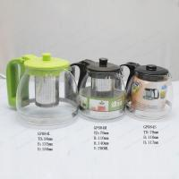 Best Glass Teapot Coffee Pot with stainless steel infuser wholesale
