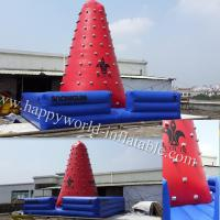 China inflatable climbing , rock climbing wall , climbing ball , inflatable rock climbing wall on sale