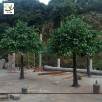 Best UVG 10ft tall handmade green outdoor artificial banyan tree for home christmas decoration GRE052 wholesale