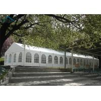 China Luxury Party Tents  200 Person Tents With Heavy Duty Materials Clear Windows on sale